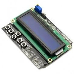 شیلد نمایشگر LCD کاراکتری 1602 دارای کلیدهای کنترلی مناسب برای بردهای آردوینو