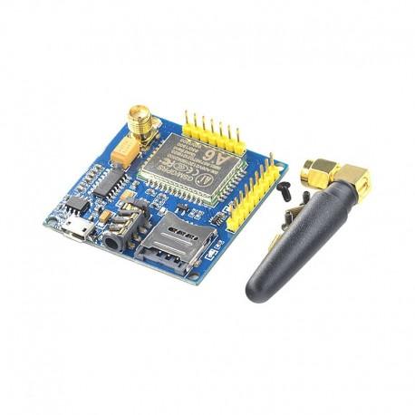 ماژول GPRS / GSM چهار باند A6 دارای ارتباط TTL / RS232