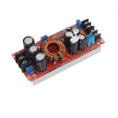 مبدل افزاینده 1200 وات DC به DC با قابلیت کنترل جریان و ولتاژ خروجی
