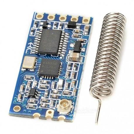 ماژول وایرلس HC-12 دارای فرکانس 433MHz