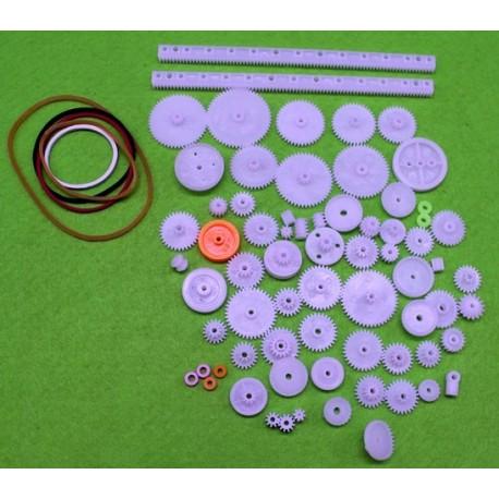 پک 75 تایی انواع چرخ دنده