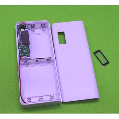 پاوربانک 5 ولت دارای 2 خروجی USB به همراه نمایشگر دیجیتال
