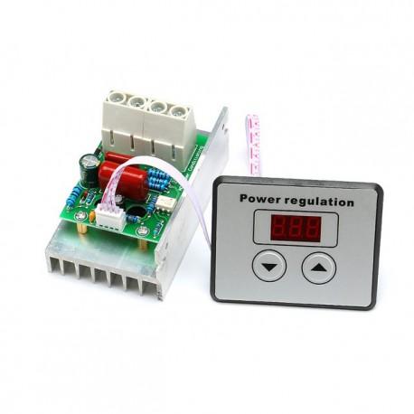 دیمر دیجیتال 10 کیلو وات SCR - ولتاژ 220 ولت AC