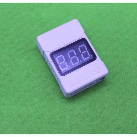 نمایشگر و مانیتور ولتاژ باتری مجهز به آلارم هشدارBBX1-8S