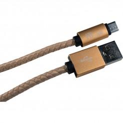 کابل شارژر میکرو یو اس بی همراه باتری مدل HB-510-M