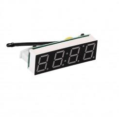 ماژول سه در یک نشانگر دما -ساعت-ولتاژ