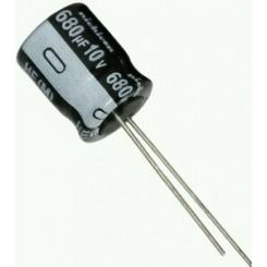 خازن الکترولیت 680uF-10V