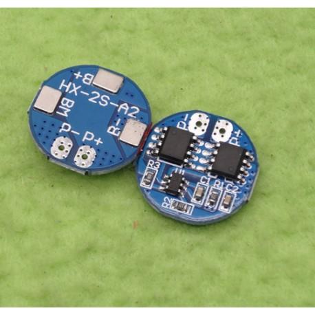 مدار محافظ و کنترل شارژ باتری لیتیومی دو سل 5 آمپر 18650