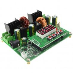 ماژول منبع تغذیه 6 آمپر با کنترل دیجیتال جریان ولتاژ و با نشانگر (دارای حافظه)