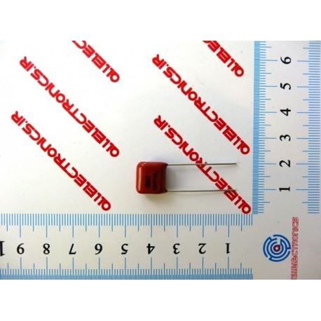 خازن پلی استر 100nF-630V
