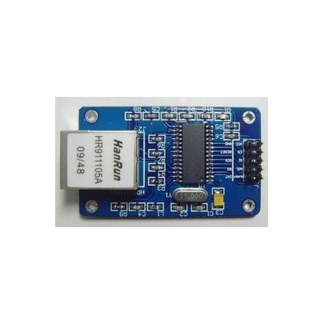 ماژول شبکه ENC28J60 spi
