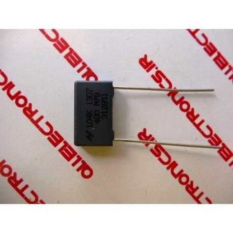 خازن 100nF-400v MKT