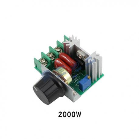 دیمر 2 کیلو وات SCR - ولتاژ 220 ولت AC