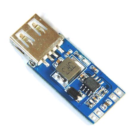 ماژول کاهنده dc-dc با خروجی USB سه آمپر