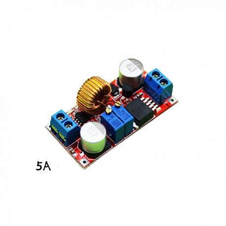 منبع تغذیه و رگولاتور 5 آمپر با امکان تنظیم ولتاژ و جریان خروجی