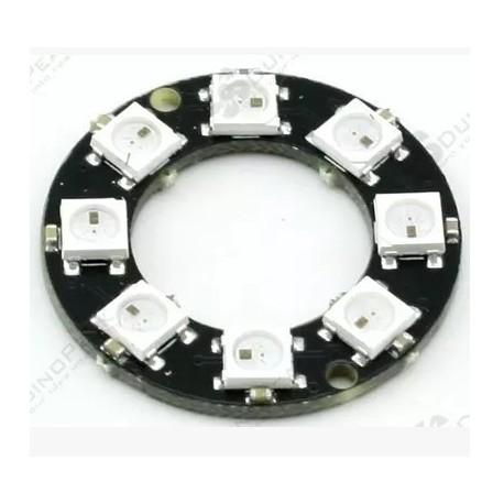 ماژول گرد 8تایی - WS2812 - LED RGB